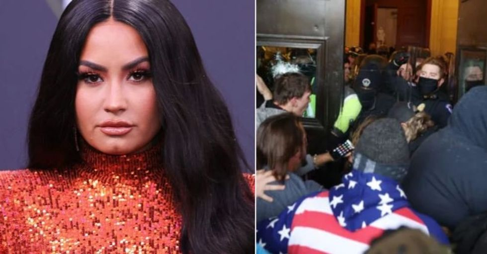 Demi Lovato Facing Backlash for Tweets During Capitol Building Riots