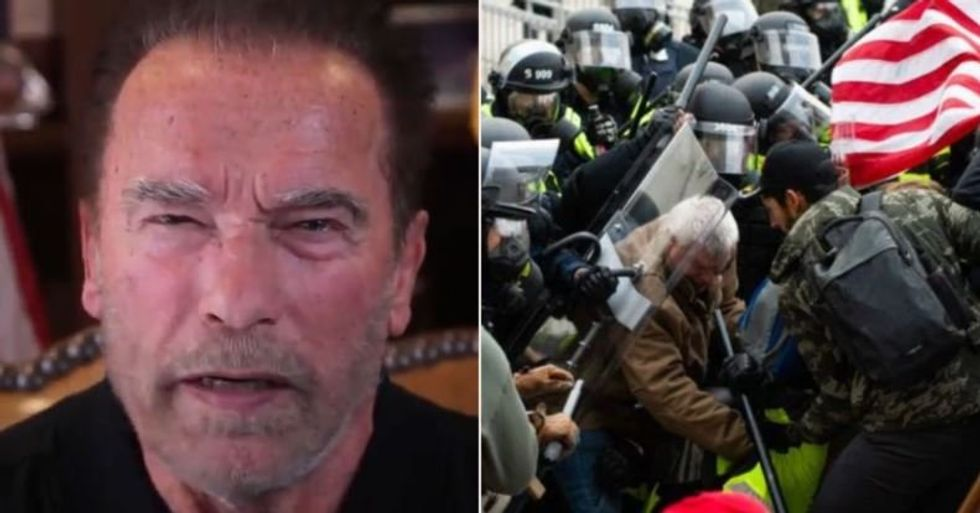 Arnold Schwarzenegger Compares Capitol Riot to Rise of Nazis