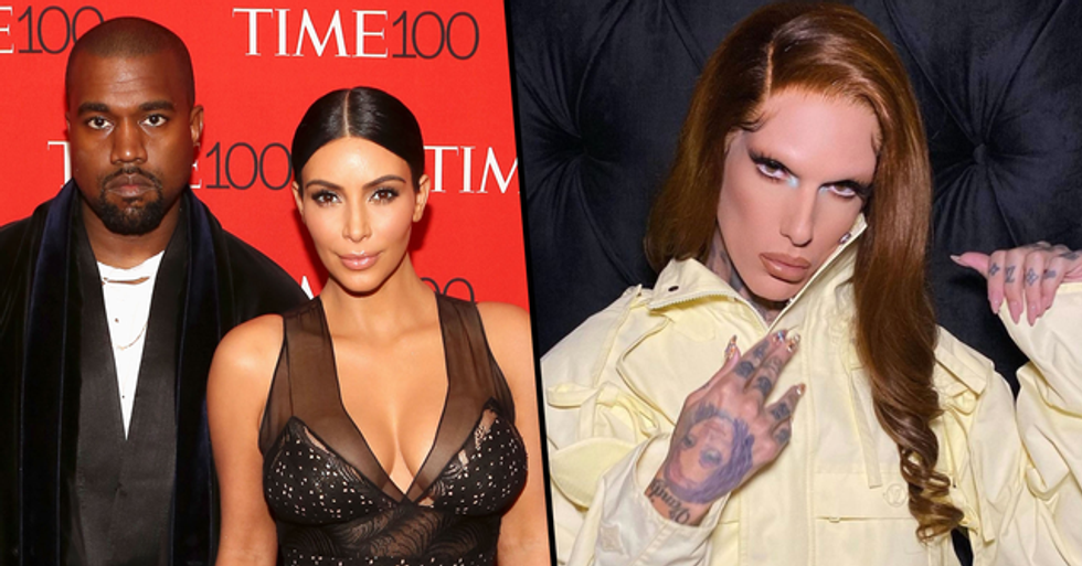 Jeffree Star Is Fueling the Rumors That He's Dating Kanye West