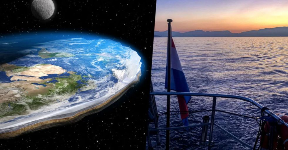 Flat Earthers Attempted To Sail To the Edge of the World and It Ended in Great Disappointment