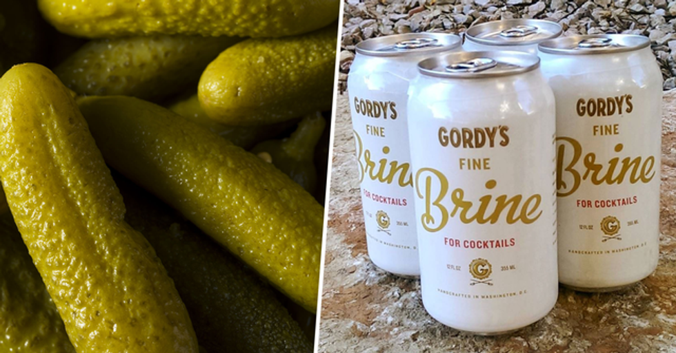 Canned Pickle Juice Is Now a Thing So You Can Stop Drinking From the Jar in Secret