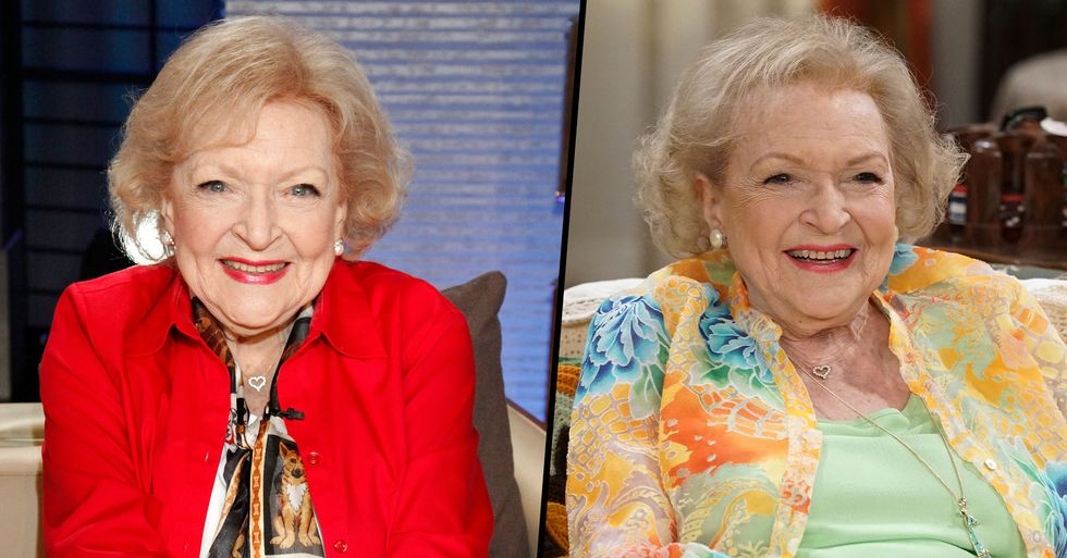 98-Year-Old Betty White Says Vodka and Hot Dogs Are the Secret to a Long Life