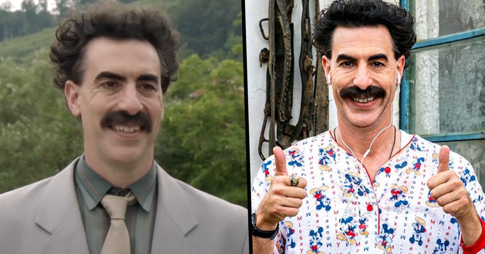Sacha Baron Cohen Says There Won't Be Another Borat Movie