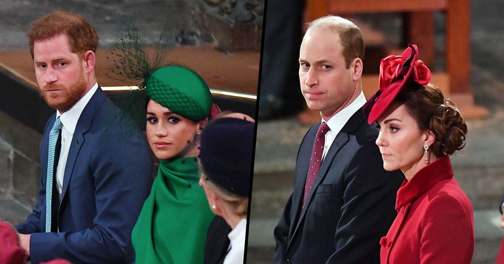 Lip Reader Reveals What Prince William Said to Kate Last Time They Were With Prince Harry and Meghan