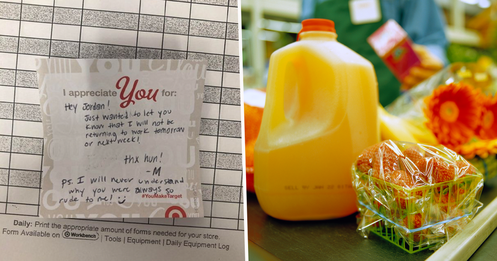 Grocery Store Worker Quits Job by Leaving Boss 'Brutal' Note on Her Desk