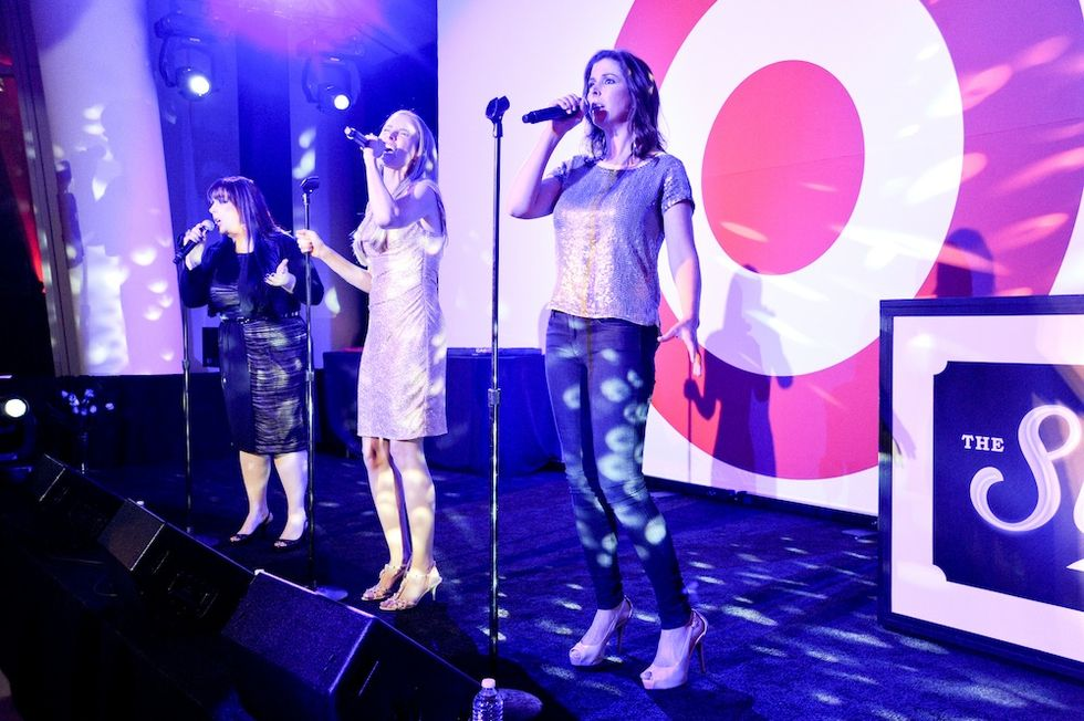 Hold On, Wilson Phillips Performed at the Shops at Target Party Last Night!