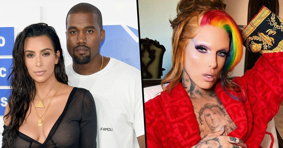 TikToker Sends the Internet Into a Frenzy by Saying That Kanye West Cheated on Kim With Jeffree Star
