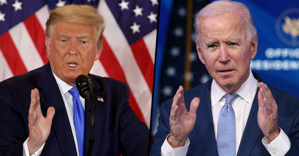 Donald Trump Vows to 'Fight Like Hell' and Says That Biden 'Will Not Take This White House'