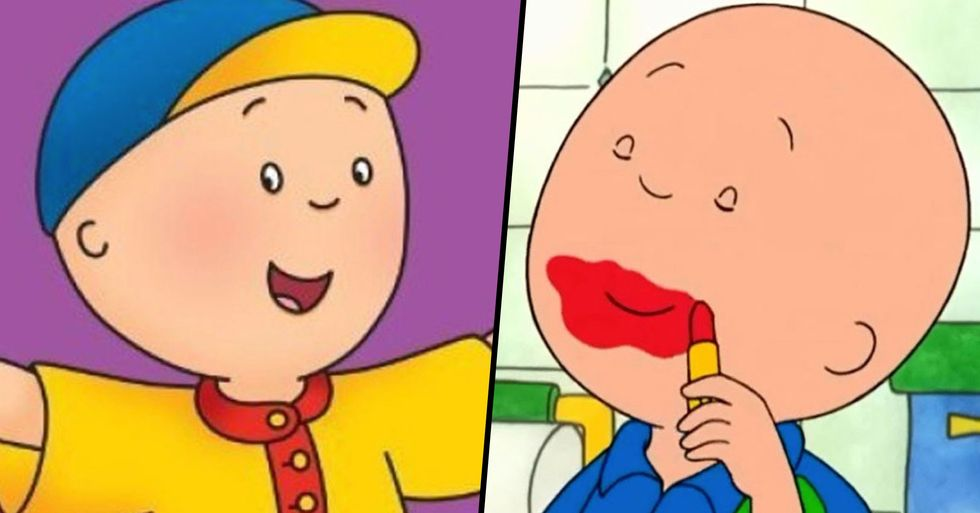 PBS Canceling 'Caillou' and People Are Rejoicing About It