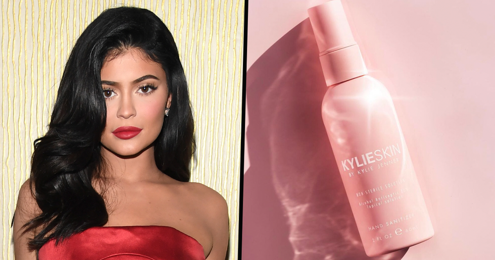 Kylie Jenner Is Being Accused of 'Profiting off the Pandemic' With Her Latest Cosmetic Release