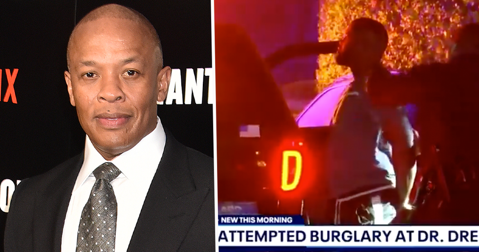 Dr. Dre's Home Hit by Burglars Who Reportedly Saw He Was Hospitalized by Brain Aneurysm