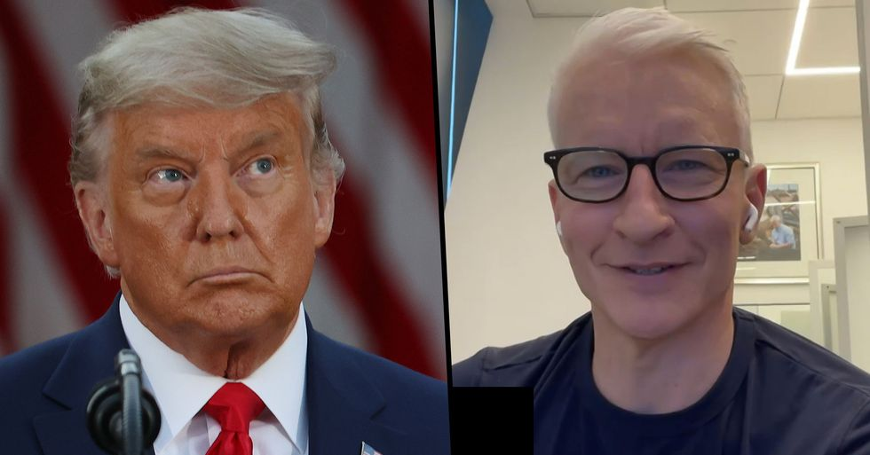 Anderson Cooper Lays One of the Biggest Donald Trump Myths To Rest Once and for All