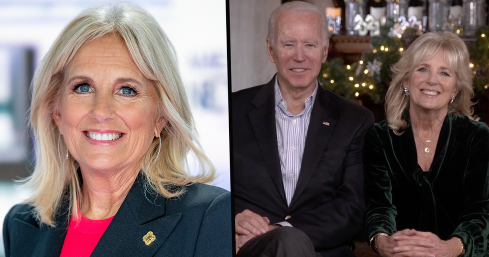 Jill Biden Shares First Photo of Our New President Since His Historic Election Win