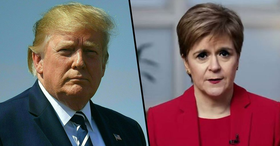 First Minister of Scotland Warns Donald Trump He Can't Go There To 'Escape' Joe Biden's Inauguration