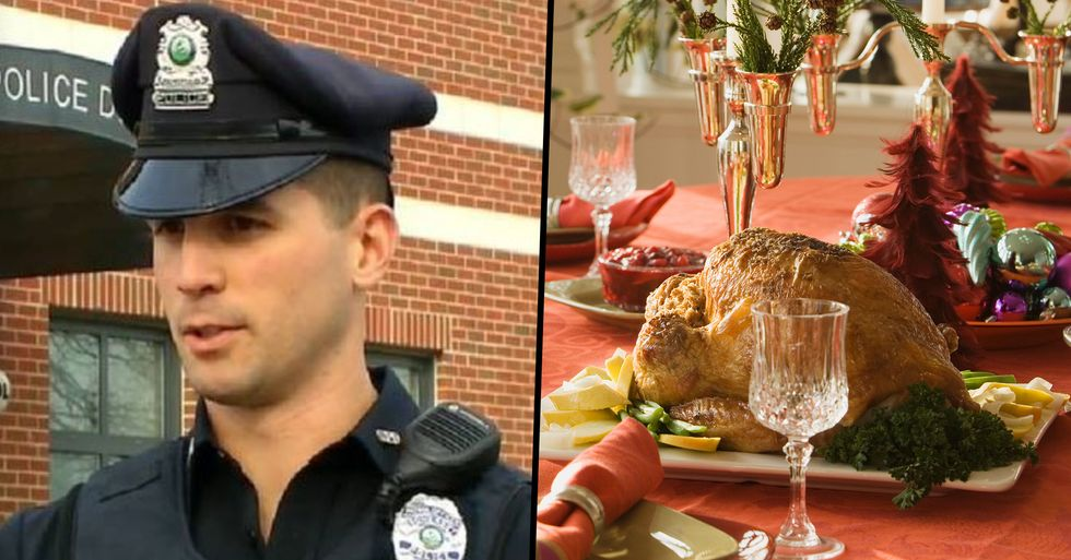 Policeman Pays For Shoplifters' Christmas Dinner Instead of Arresting Them