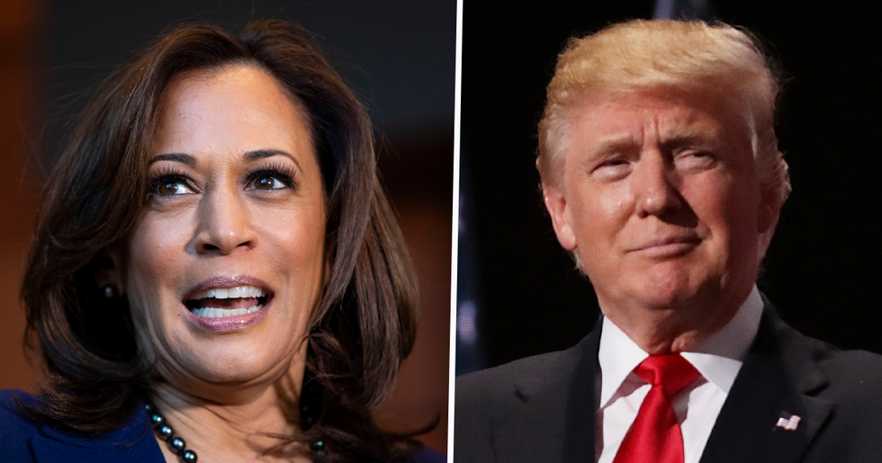 Kamala Harris Says Donald Trump's Leaked Call With Georgia Official Is a 'Bold Abuse of Power'