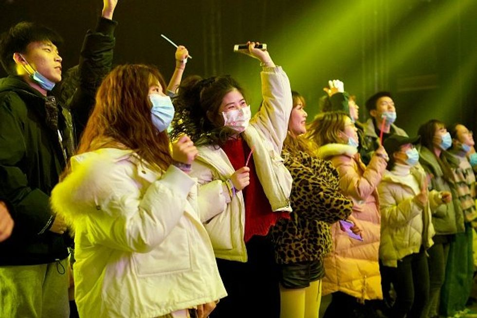 Wuhan Locals Party in Packed Nightclubs After Reporting No COVID Cases Since May