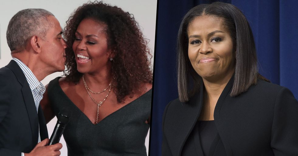 Barack Obama Says One of Michelle's 'Main Goals' Was Not To Be Photographed in a Bikini