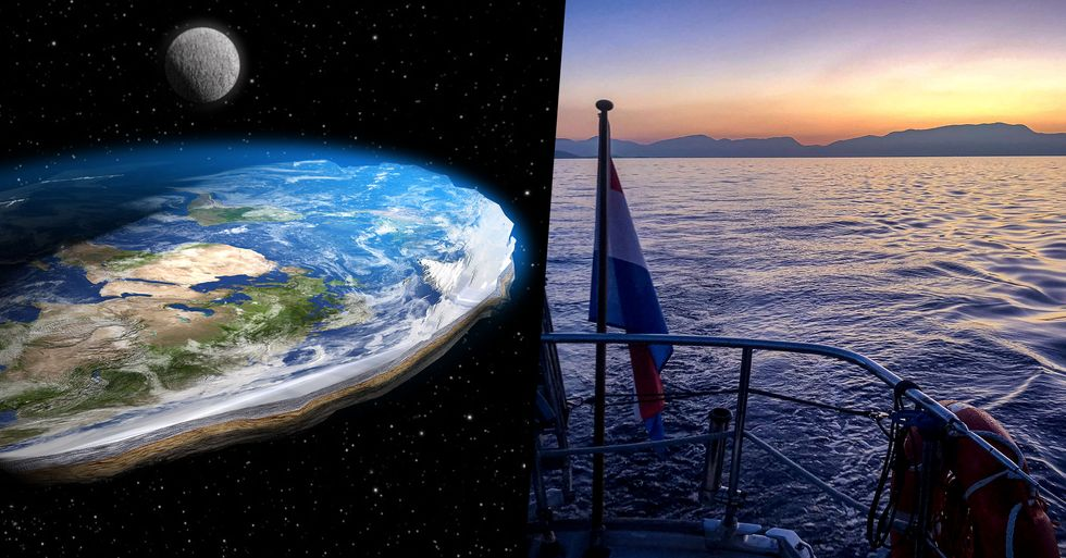 Flat-Earthers Tried To Sail To the Edge of the World and It Went as Well as You Would Imagine