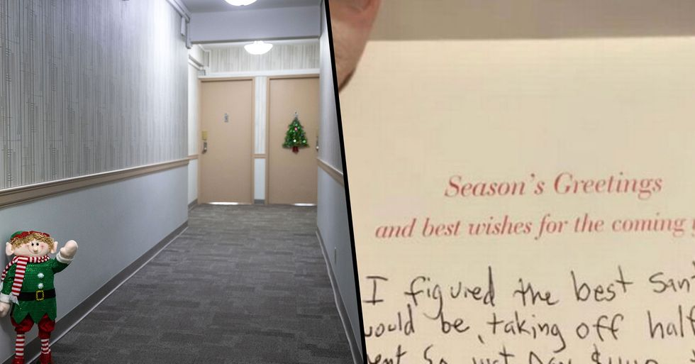 Landlord Praised for Note To 'Struggling' Tenant Who Didn't Get Any Christmas Gifts