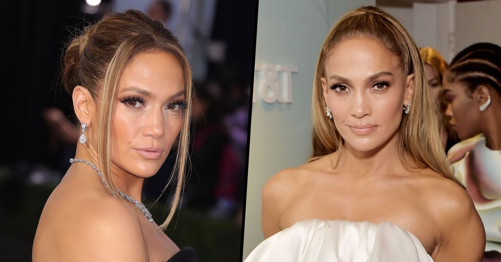 Jennifer Lopez Now Has Purple Hair and Social Media Is Freaking Out