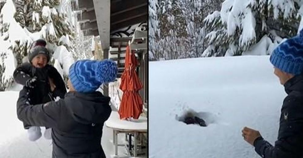Mom Defends Throwing Toddler Son into Snow after Child Abuse Claims