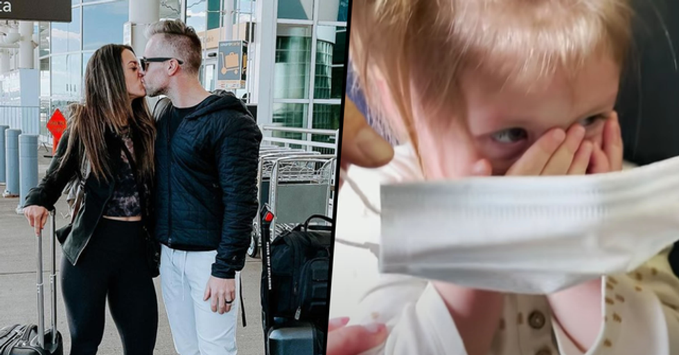 Couple Go on Vacation Without Daughter After They Were Kicked off a Flight Because She Wouldn't Wear a Mask