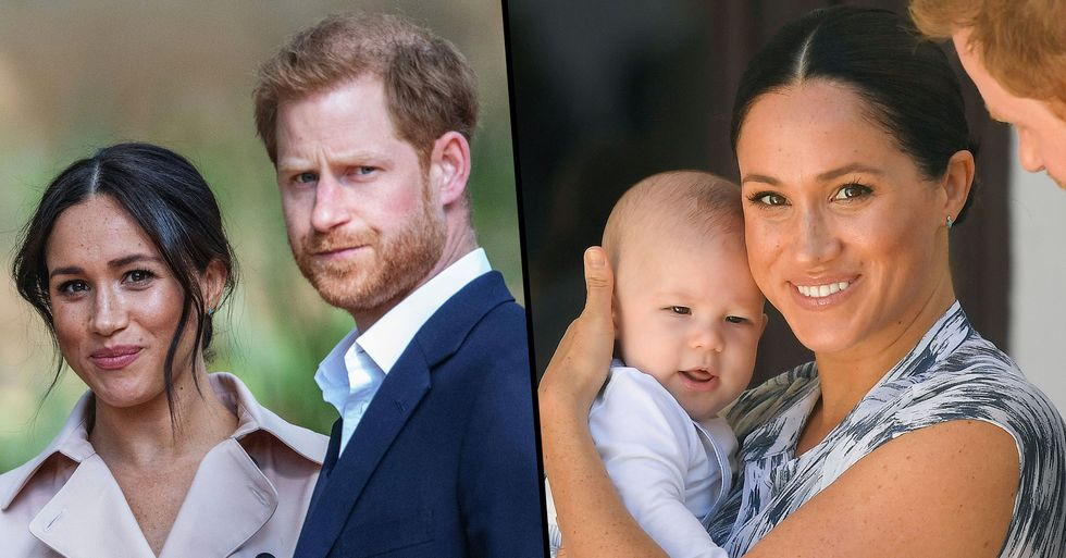Meghan and Harry Accused of Hiding Archie in 'Ridiculous' Christmas Card 'Photoshop' Job