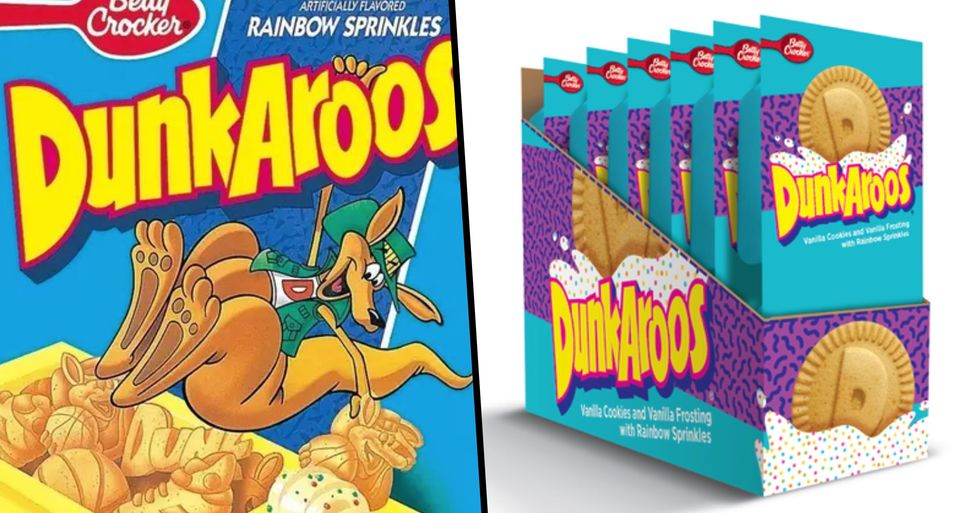 Dunkaroos Are Making a Comeback This Year and '90s Kids Everywhere Are Going Wild
