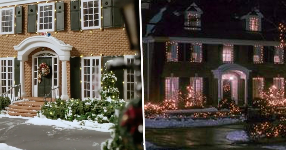Cake Designer Re-Creates the 'Home Alone' House in Gingerbread To Mark the Movie's 30th Anniversary