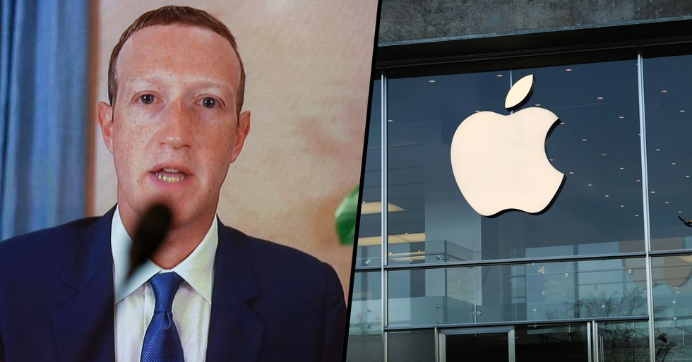 Facebook Removes Apple's Blue Tick Amid Bitter Feud
