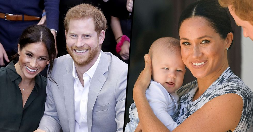 Meghan Markle and Prince Harry Share Family Christmas Card Showing Archie's Red Hair
