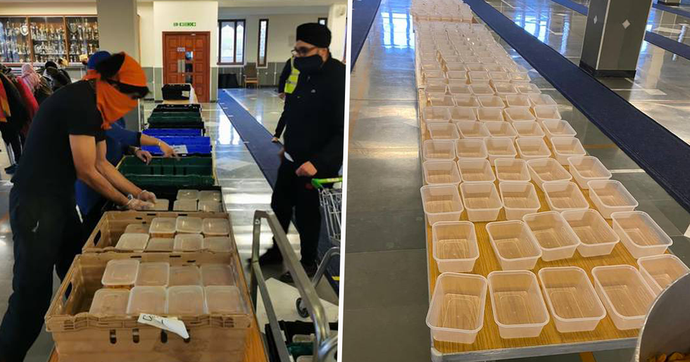 Sikh Community That Made 800 Meals For Stranded Truck Drivers Say They're Ready to Make More