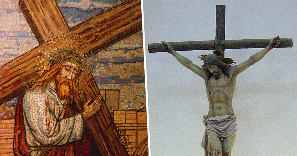 Nail 'Used in Crucifixion of Jesus' Discovered in Secret Chamber