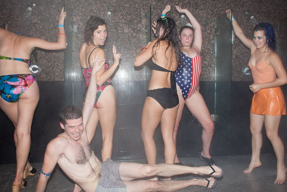 Getting Steamy at New Party, Night Spa