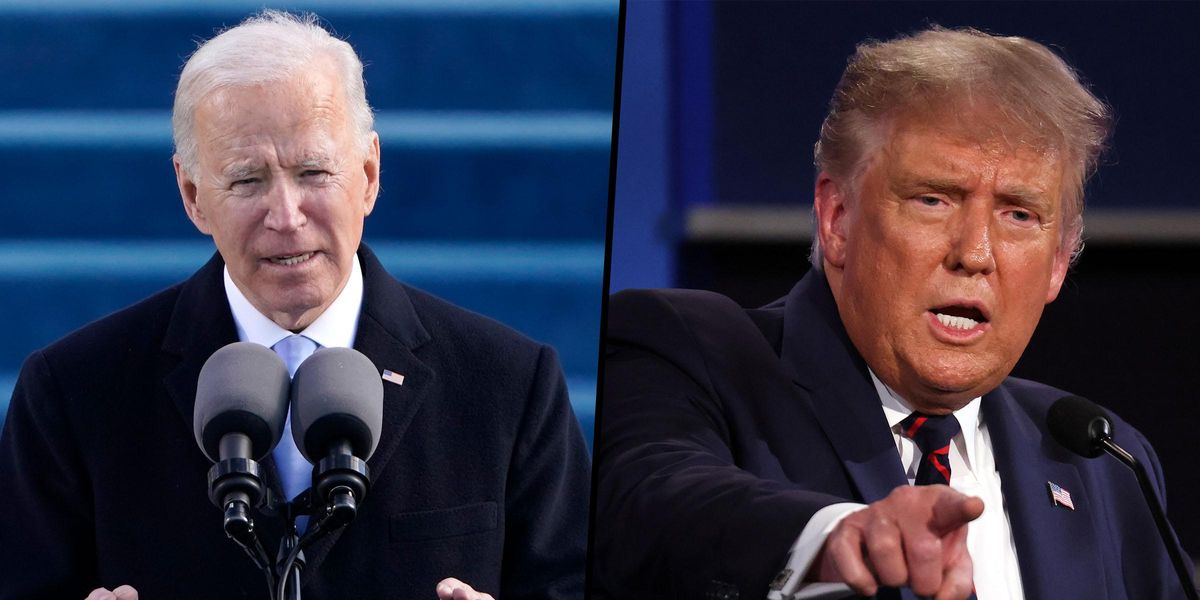 Joe Biden's Approval Rating Is Already Higher Than Donald Trump's Ever Was