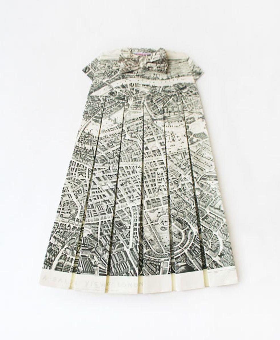 Map Quest: Artist Elisabeth Lecourt's Map Dresses
