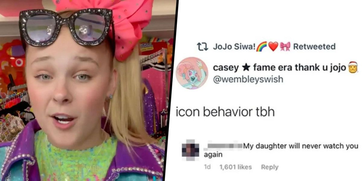 Jojo Siwa Shut Down a Homophobic Mom With 4 Letters and We're Seriously Impressed