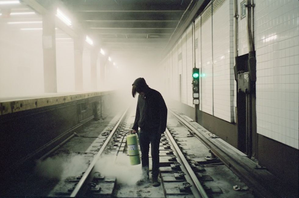 """Young Photographer Sean Vegezzi Explores Underground NYC in """"I Don't Warna Grow Up"""""""