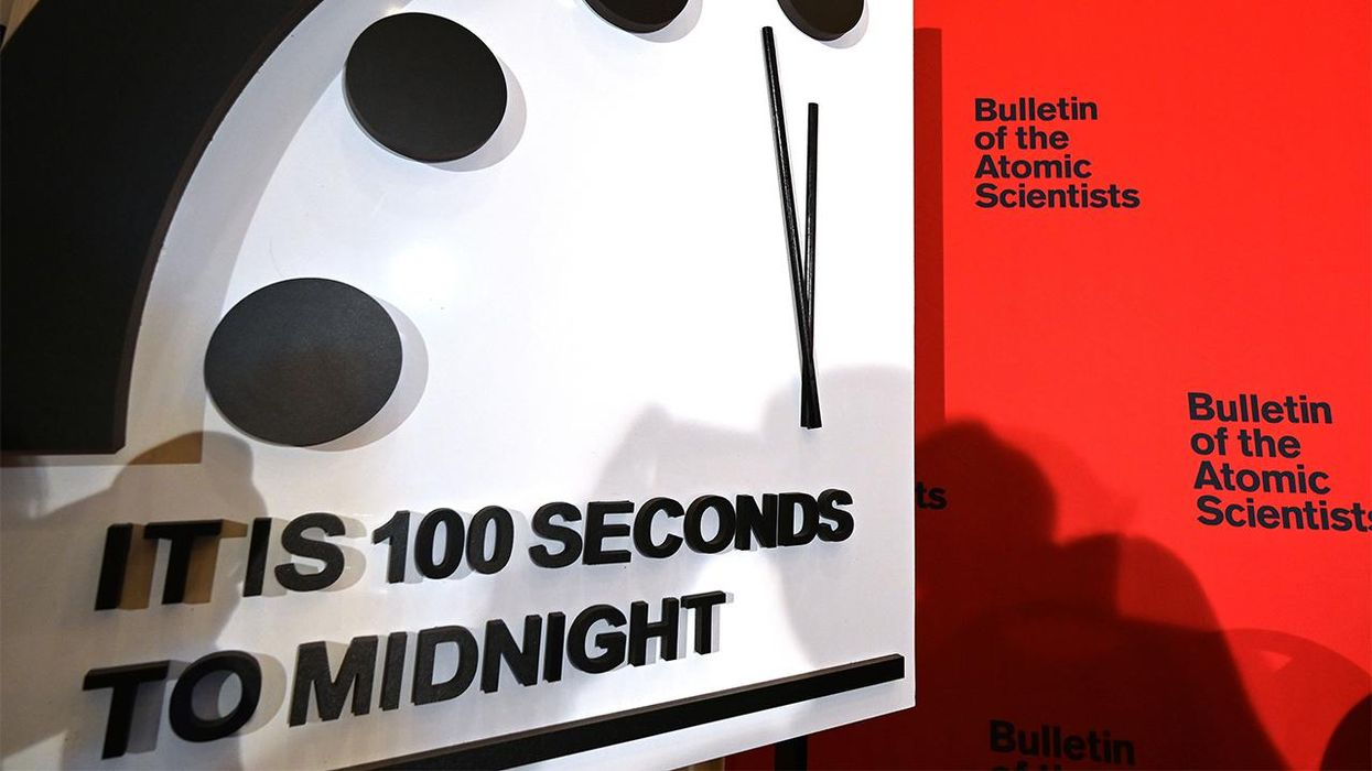 2021's 'Doomsday Clock' Stays at 100 Seconds to Midnight