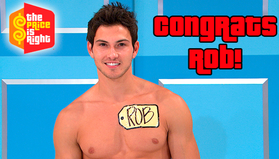 May We Introduce You to the First-Ever The Price Is Right Male Model?