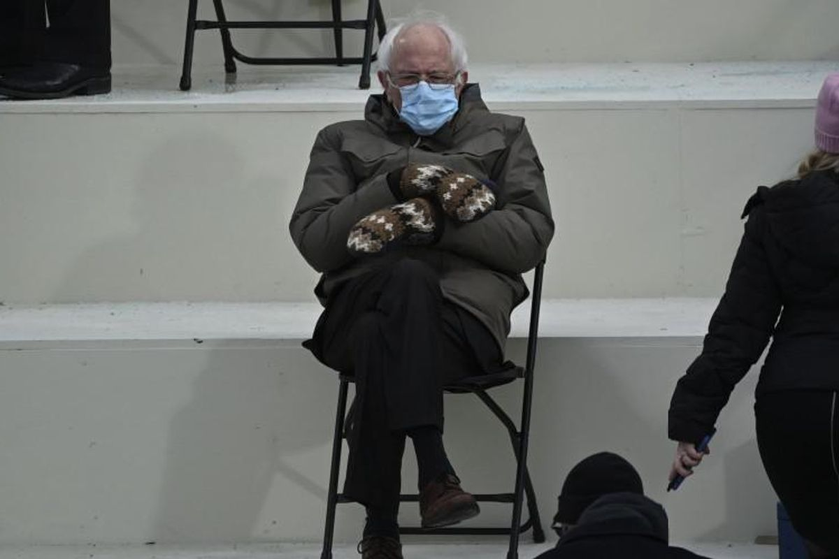 Bernie Sanders' mitten merch raised $1.8 million for Vermont charities in less than a week