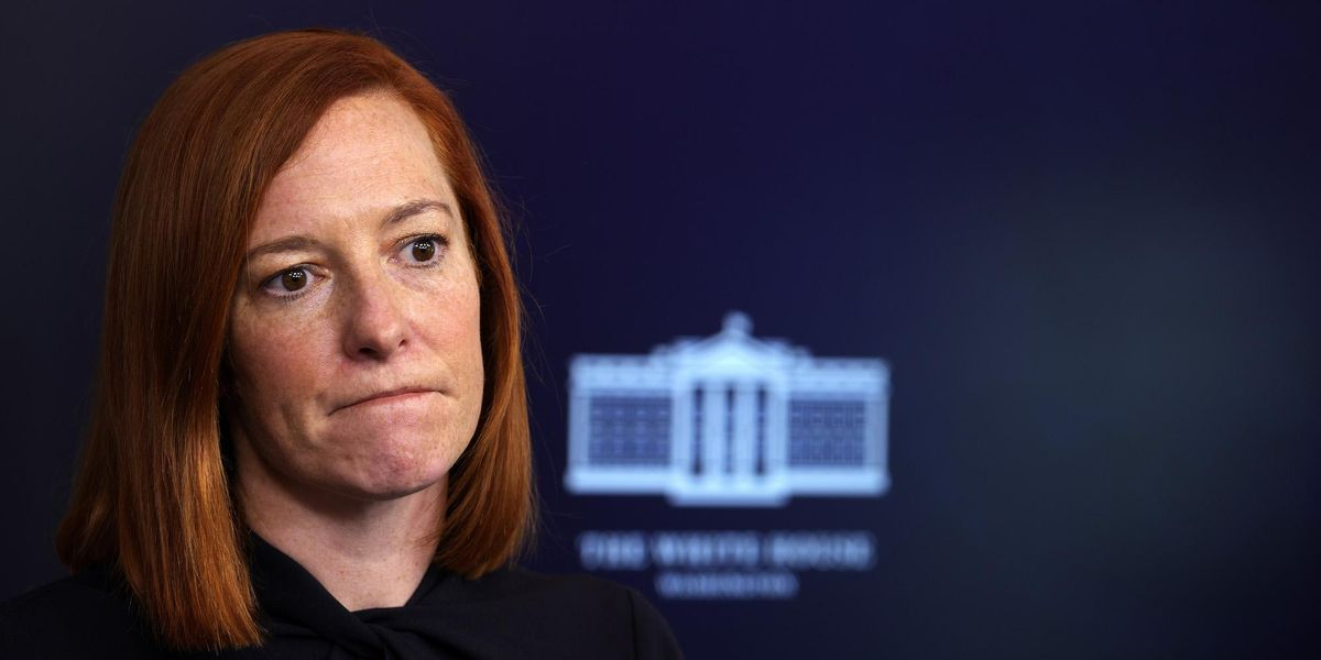 Twitter mocks Jen Psaki for nonsensical gender identity answer to question about stock market chaos