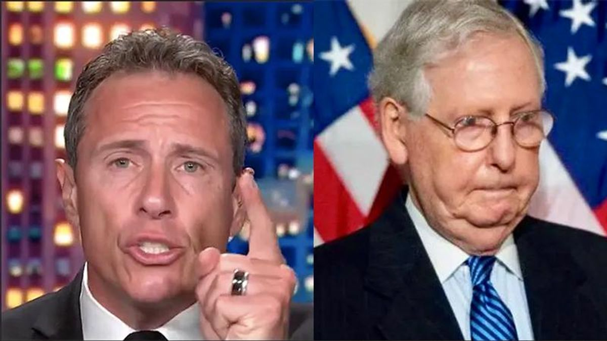 CNN's Chris Cuomo: Trying to compromise with Mitch McConnell is like 'petting a starving snake'