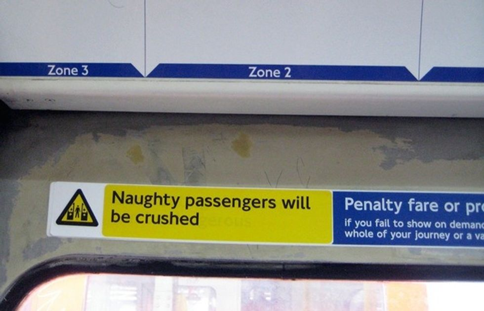 Prankster Redesigns London's Subway Signs