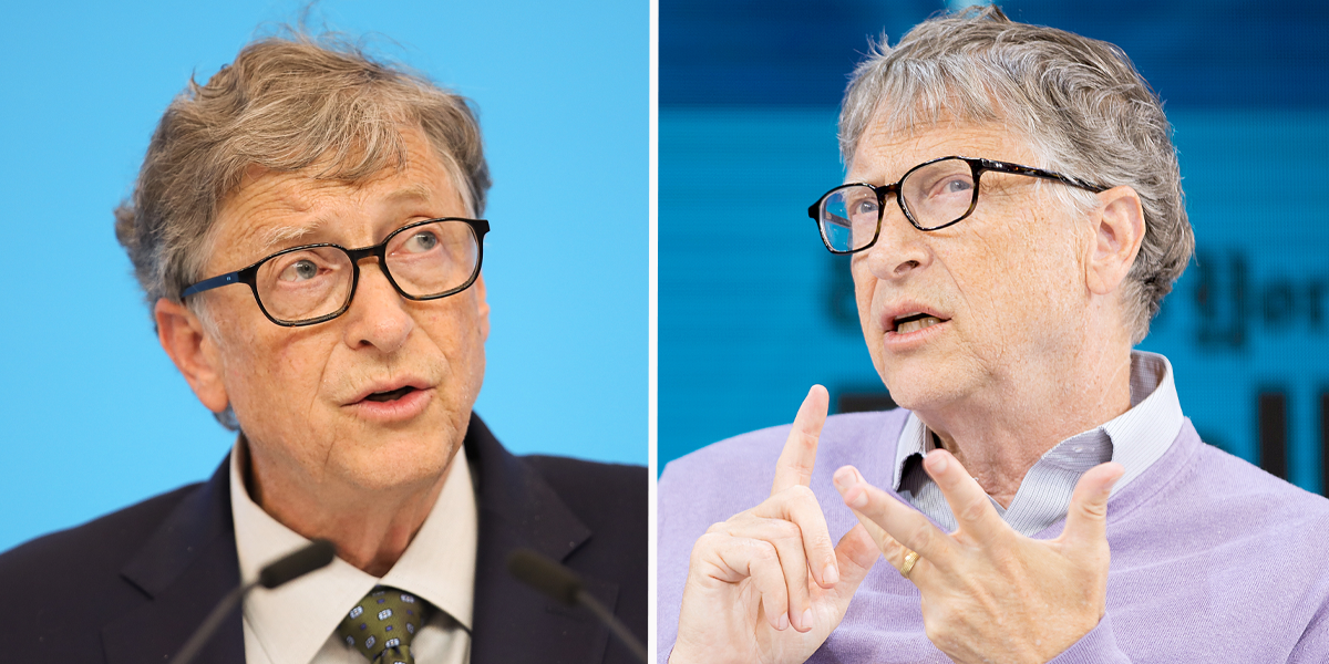 Bill Gates Predicts What 2021 Will Be Like and It's Very up and Down