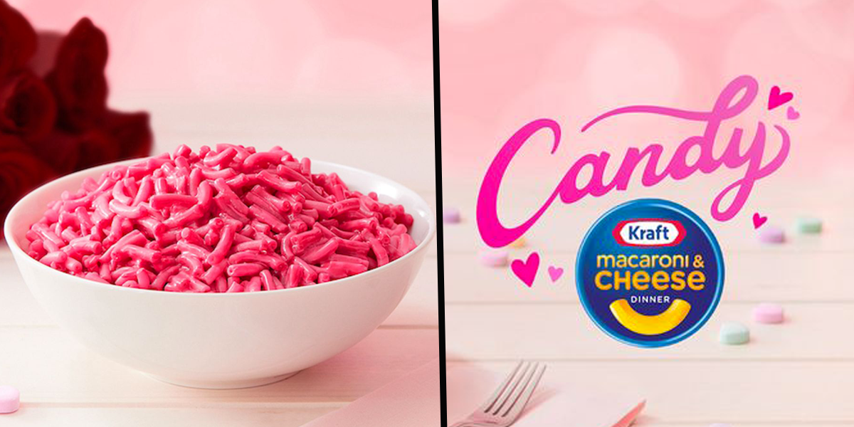 Kraft Just Unveiled Pink Mac and Cheese That Tastes Like Candy for Valentine's Day
