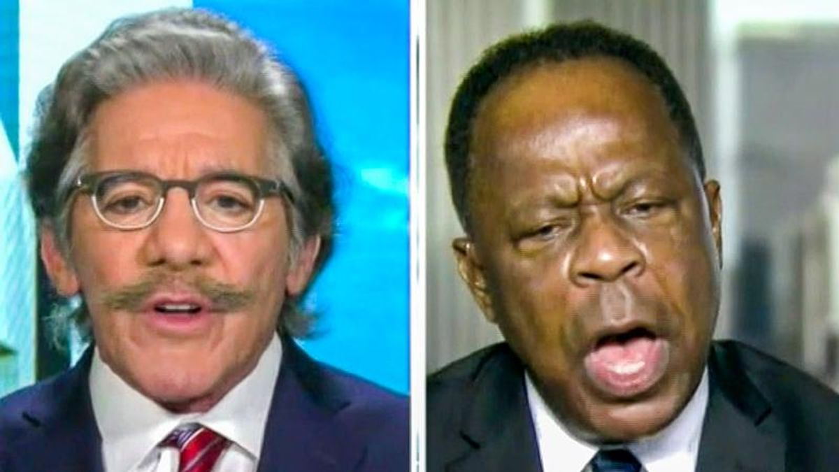 'How dare you?' Shouting match erupts on Fox News after Geraldo Rivera says Trump 'incited' insurrection