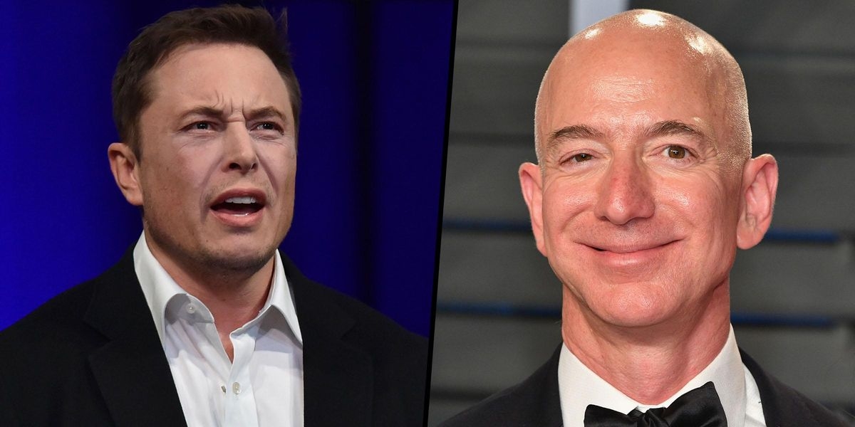 Elon Musk and Jeff Bezos Have Reignited Their Bitter Feud