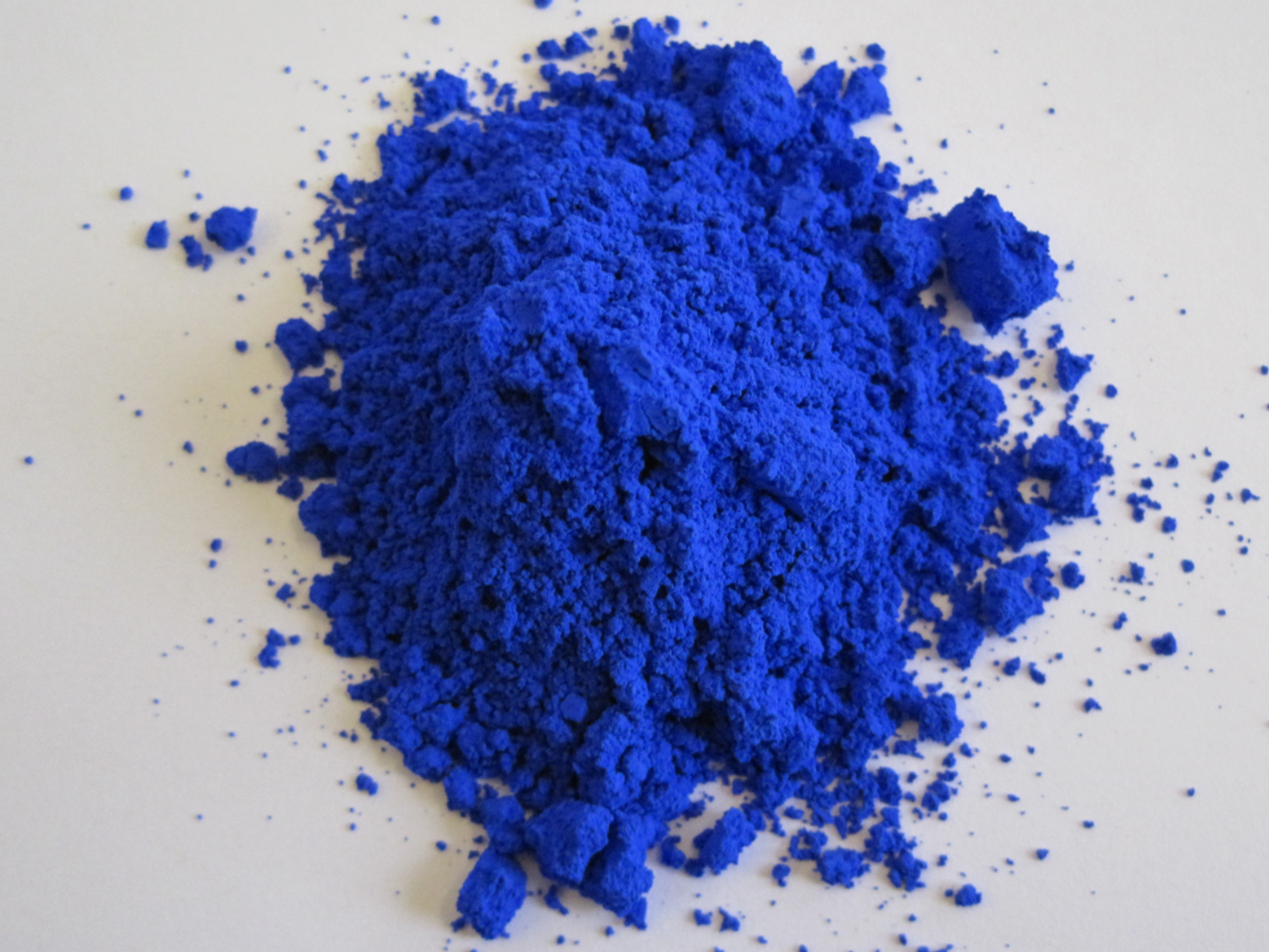 A brand-new blue may be the most eye-popping blue yet